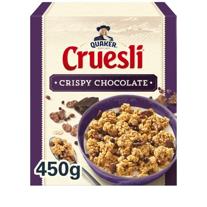 Cruesli limited edition crispy choco (Stuk, 450g)