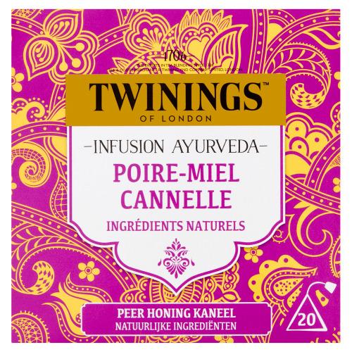 Twinings Infusion Ayurveda Peer Honing Kaneel 20 Builtjes 36 g (36g)