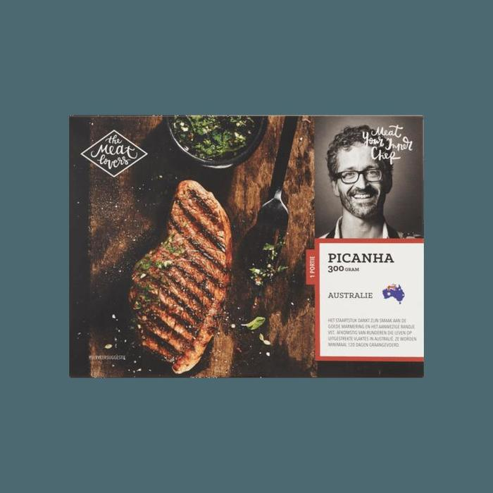 The Meat Lovers Picanha (Diepvries) 300g (300g)