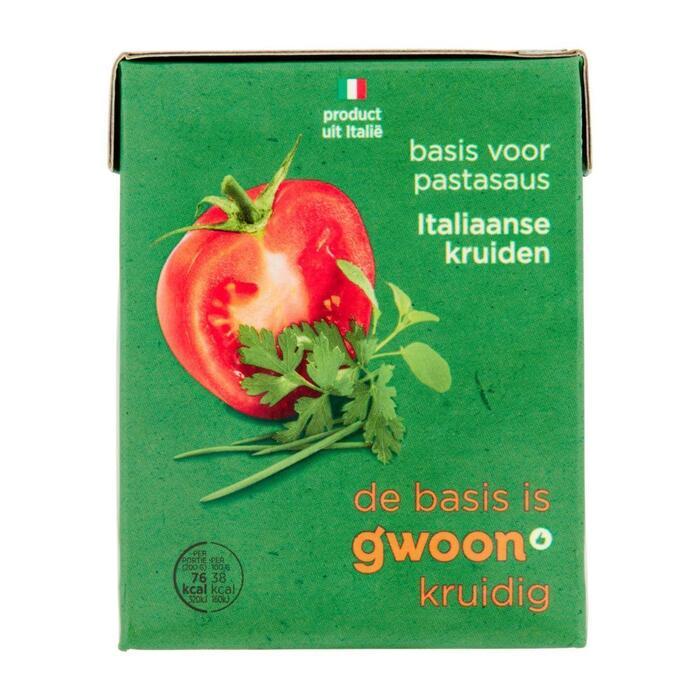 g'woon Basis italiaanse kruiden (390g)