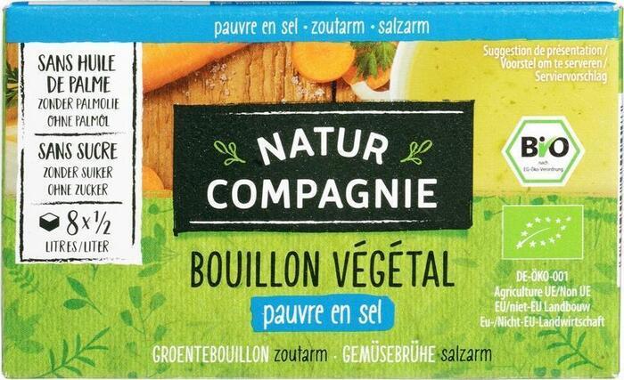 Groentebouillon zoutarm (68g)