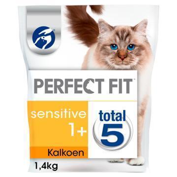 Perfect Fit Kattenvoer Sensitive 1+ Kalkoen 1,4 kg (1.4kg)
