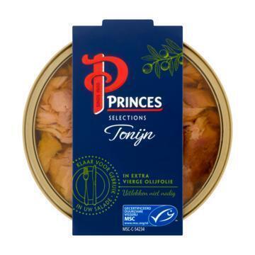 Princes Selections Tonijn in Extra Vierge Olijfolie MSC 120 g (120g)