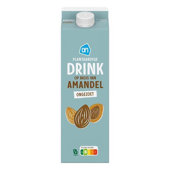 AH Verse amandel drink ongezoet (1L)