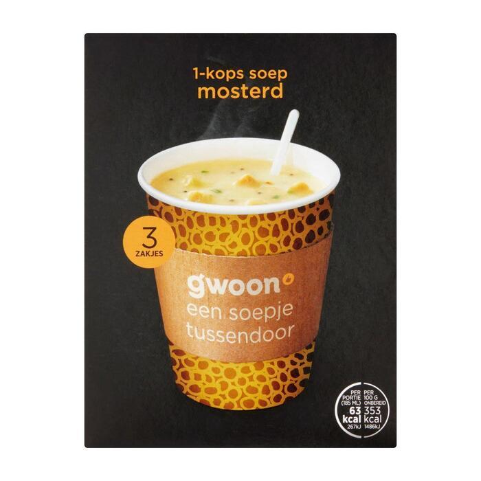 g'woon Mosterdsoep (54g)