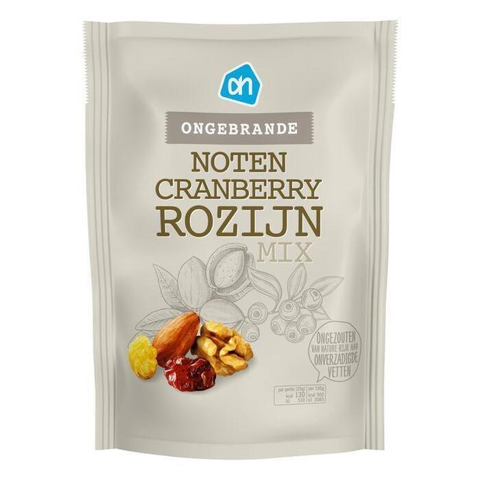 AH Ongebrande notenmix cranberry rozijn (200g)