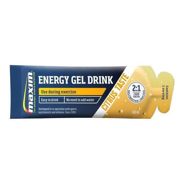 Instant energy gel drink citrus (60ml)