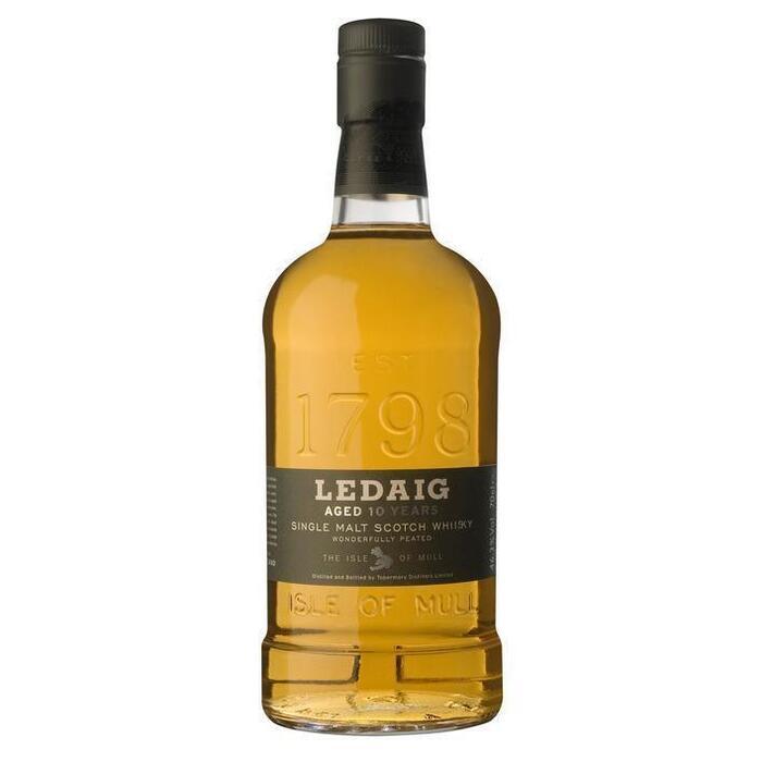 Ledaig Single malt Scotch whisky 10 years (rol, 0.7L)