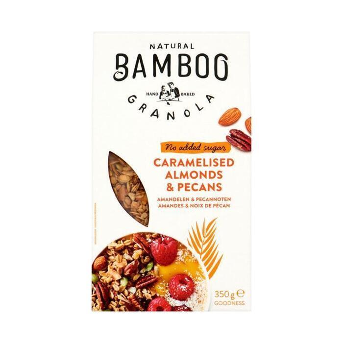 Bamboo Granola Gekaramelliseerde Amandelen en Pecannoten 350 g (350g)