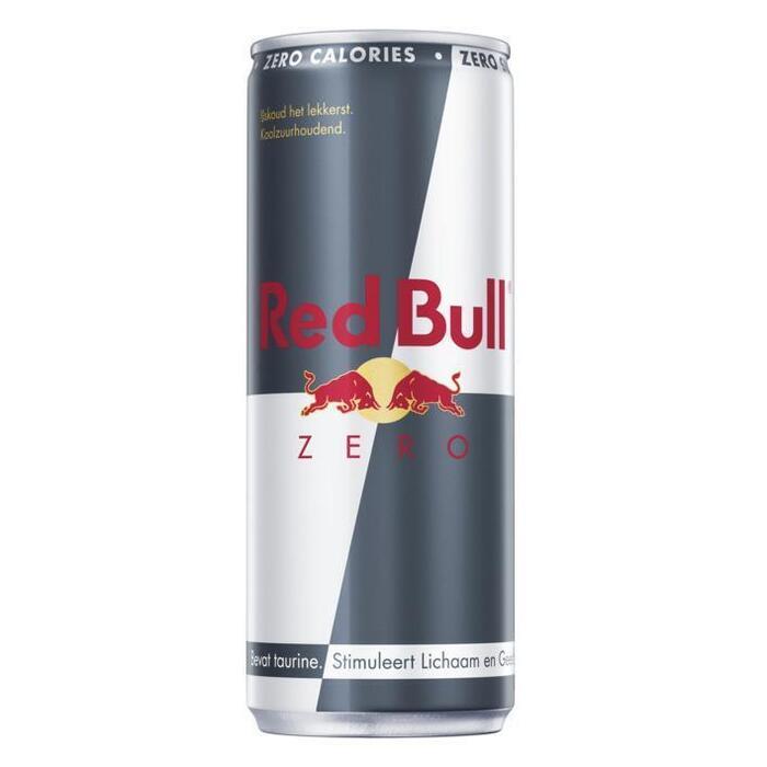 Red Bull Zero Calories (blik, 24 × 250ml)