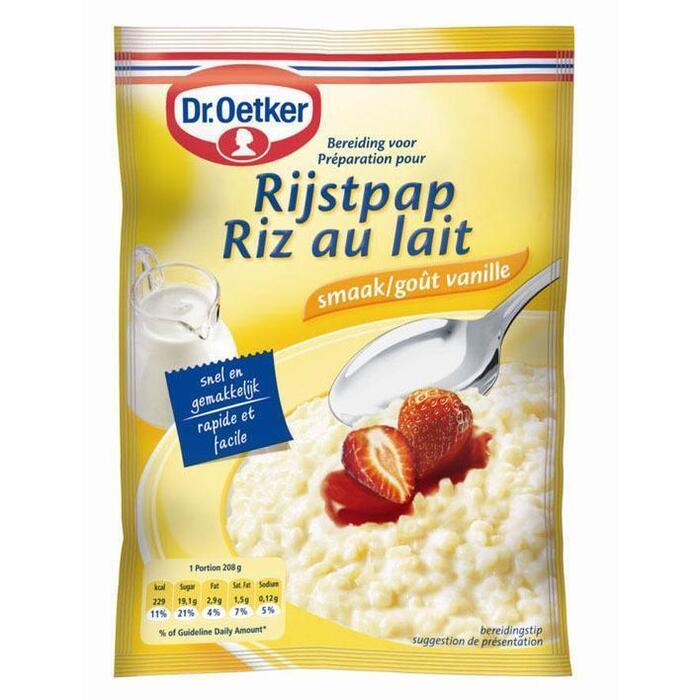 Rijstpap vanille (125g)