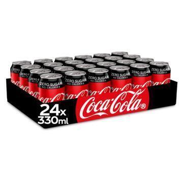 Coca-Cola Zero sugar tray (rol, 7.92L)
