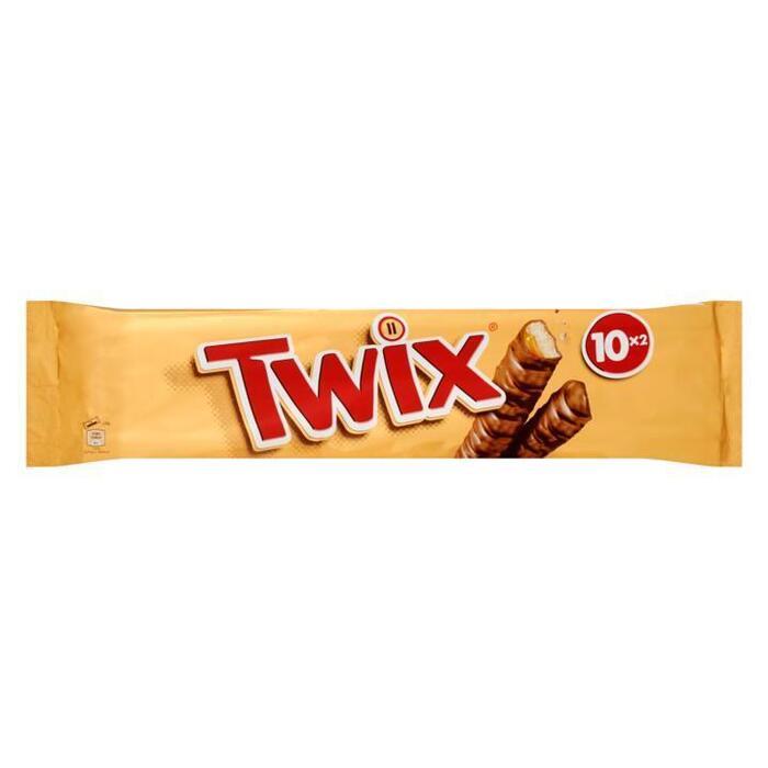 Twix (10x 2 stuks) (Stuk, 20 × 25g)