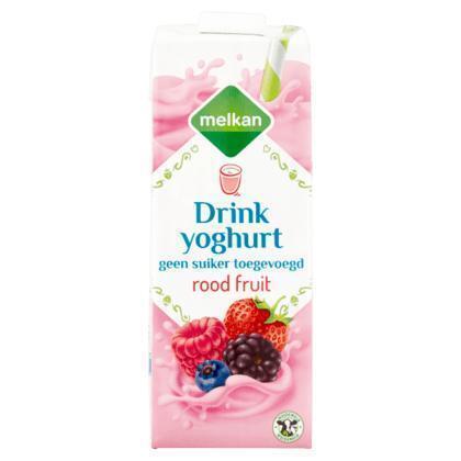 Drinkyoghurt rode vruchten (1L)