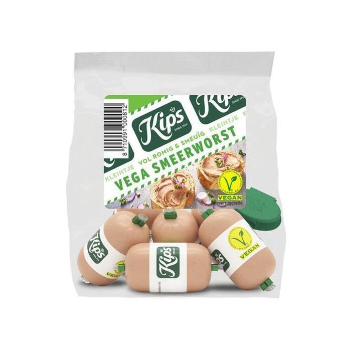 Kips Kleintje vega smeerworst (6 × 20g)