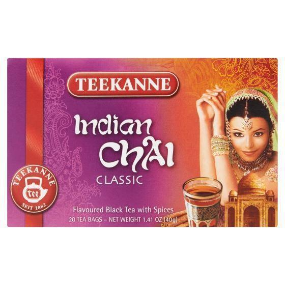 Teekanne Indian chai thee (20 × 2g)