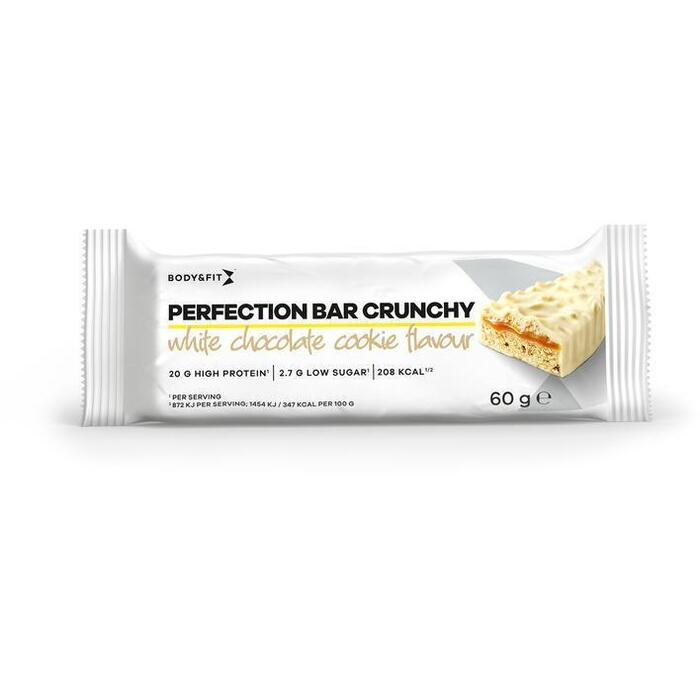Body & Fit Perfection bar crunch white choc. cook (60g)