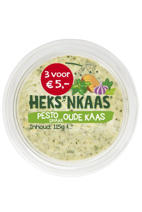 HEKS'NKAAS® Pestosmaak Oude Kaas 115 g (115g)