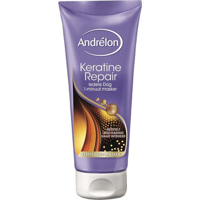 Andrélon 1-Minuut Haarmasker Keratine & Repair 180ml (180ml)