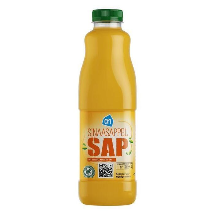 Lichtzoet sinaasappelsap (fles, 1L)