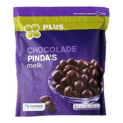 Chocolade pinda's fairtrade (200g)