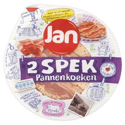 Pannenkoeken met spek 2 stuks (2 × 240g)