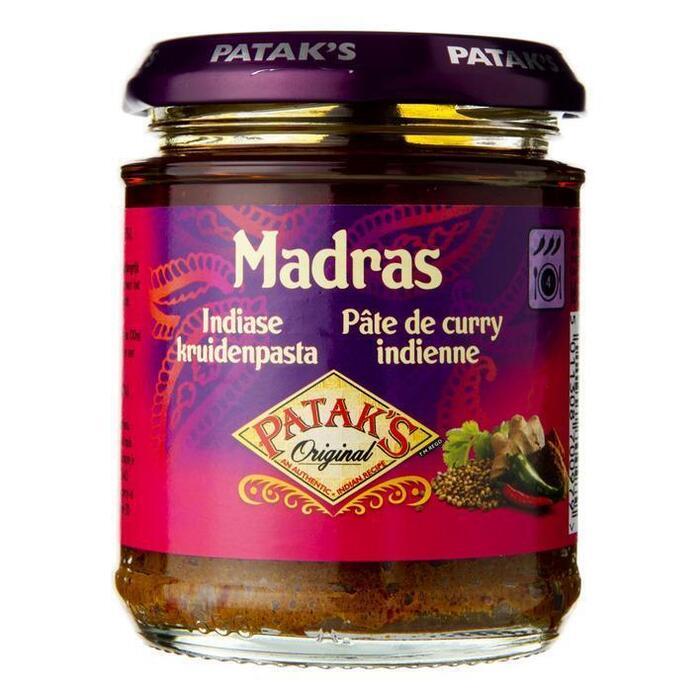 Madras, Indiase Kruidenpasta (Pot, 165g)