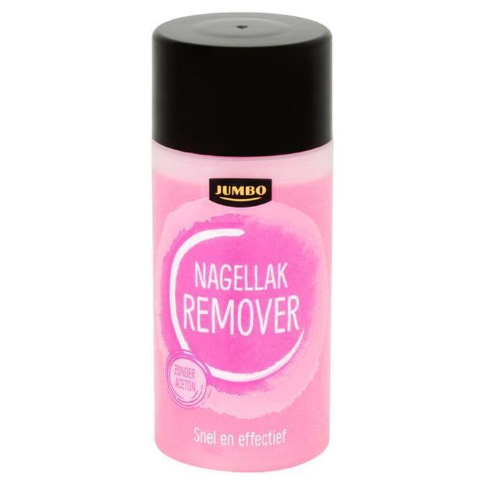 Jumbo Nagellak Remover 125ml (125ml)