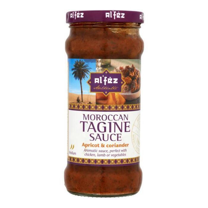 Moroccan, Tagine Saus, Apricot & Coriander (rol, 350 × 350g)