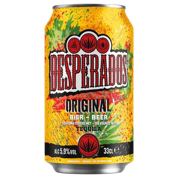 Desperados Coolcan (rol, 33 × 33cl)
