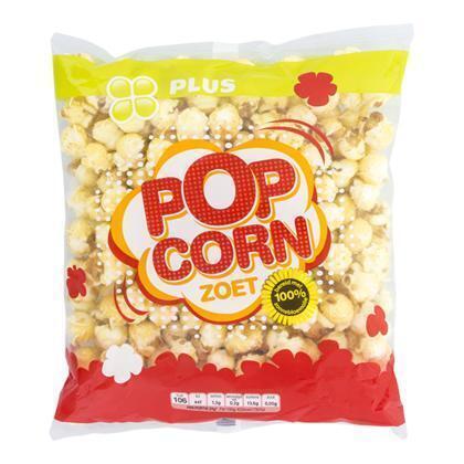 PLUS Popcorn zoet (175g)