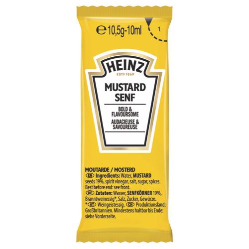 Heinz Mustard Senf 1100 x 10,5 g (10.5g)