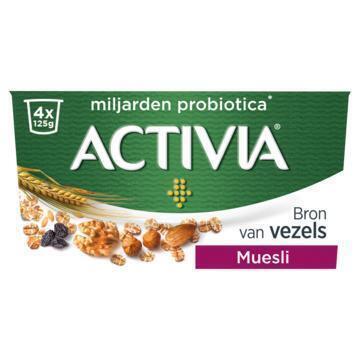 Activia Yoghurt muesli (4 × 125g)