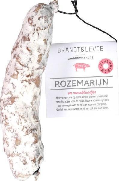 Droge worst rozemarijn en rozenblaadjes 150gr (150g)