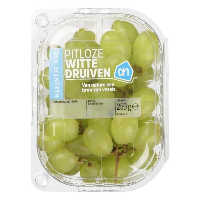 Witte Pitloze Druiven (bakje, 250g)