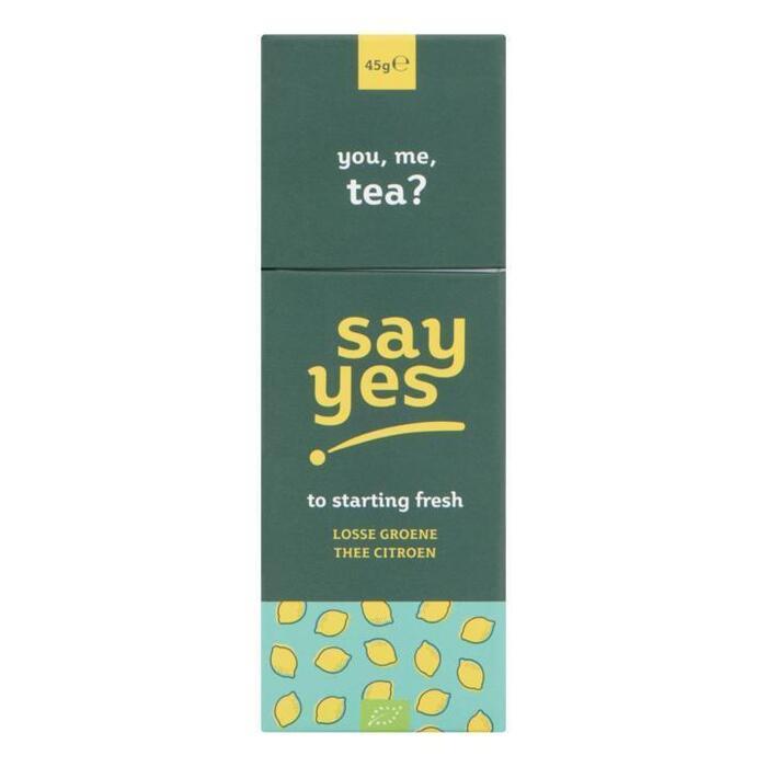 Say Yes Losse Groene Thee Citroen 45 g (45g)