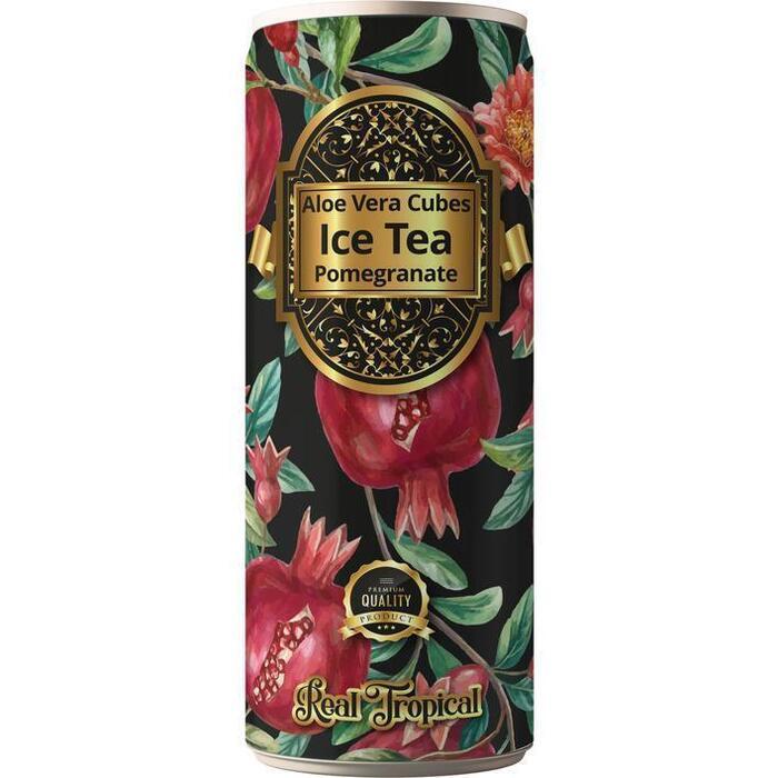 Real Tropical Ice tea Granaatappel (33cl)