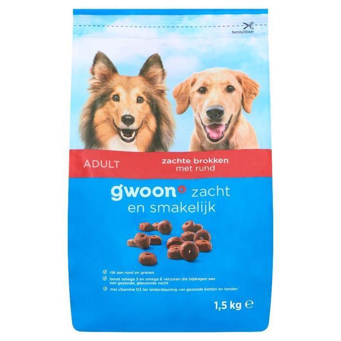 g'woon Adult mini hondenbrokken (1kg)