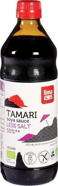 Tamari 50% minder zout 500ml (0.5L)