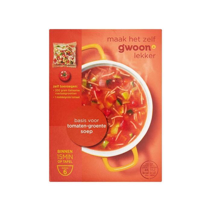 g'woon Tomaten groenten soep (94g)