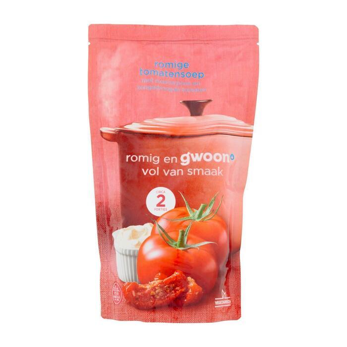 g'woon Romige tomatensoep (0.57L)