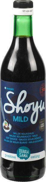 Shoyu - Milde sojasaus TerraSana 500ml (0.5L)