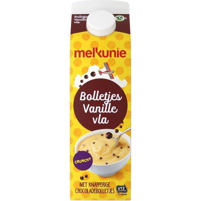 Bolletjes vanille vla met crunch (1L)