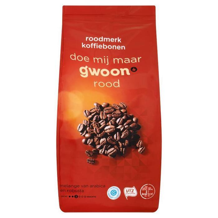 g'woon Koffiebonen roodmerk (500g)