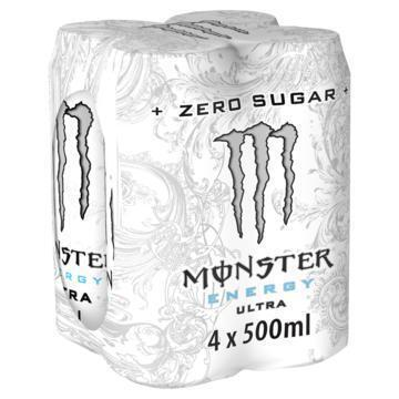 Monster Energy Ultra 4 x 500ml (4 × 0.5L)