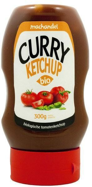 Curry Ketchup Bio (tube, 270g)