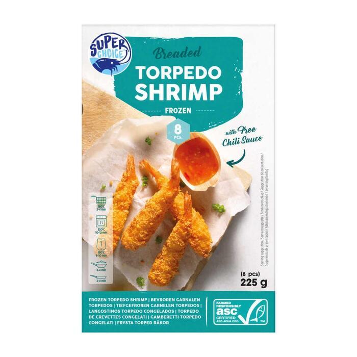 Torpedo shrimps (225g)