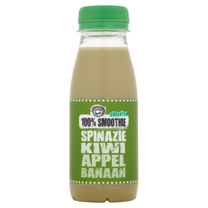 100% smoothie spinazie, kiwi, appel, banaan (250ml)