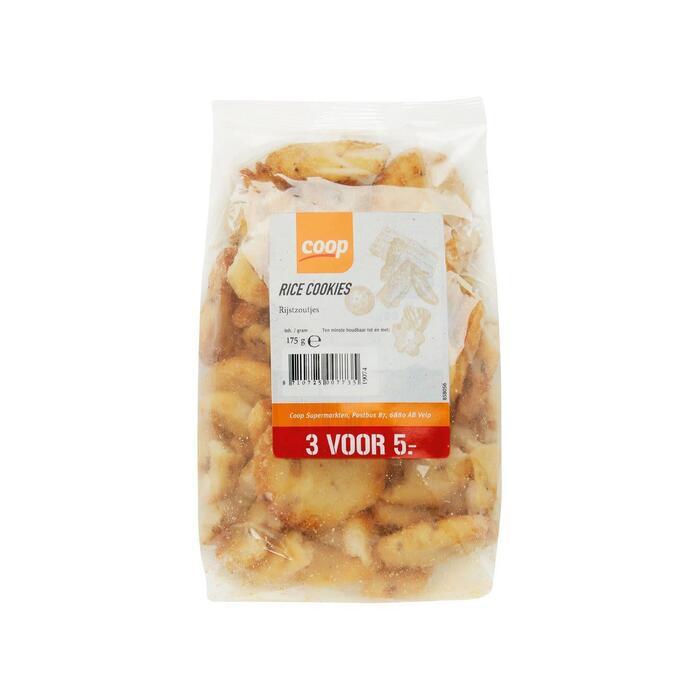 Coop Rice Cookies 175g (175g)