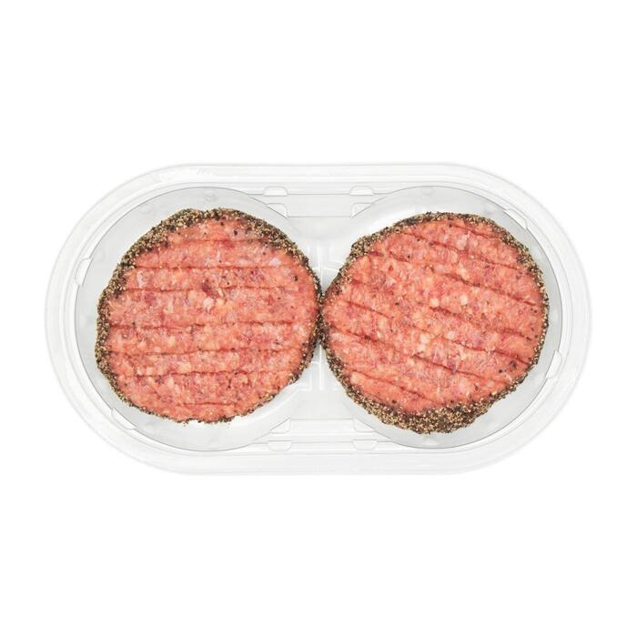 Hamburger pittige peper